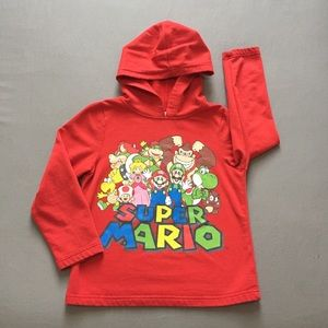 Child's Super Mario Hoodie sz 7